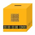 ALARM CLOCK + BANK = BANCLOCK / Yellow